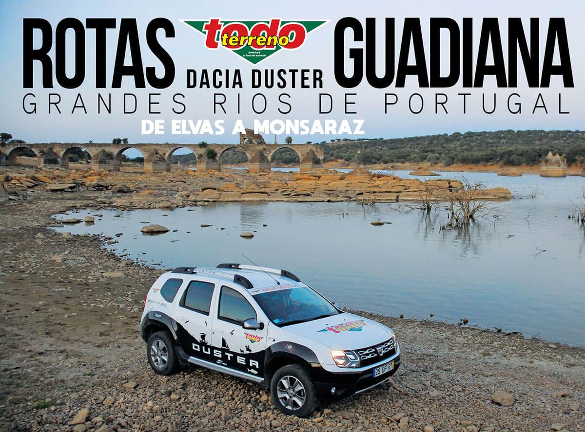 Colecção das *Rotas Todo Terreno Dacia Duster* com novo livro