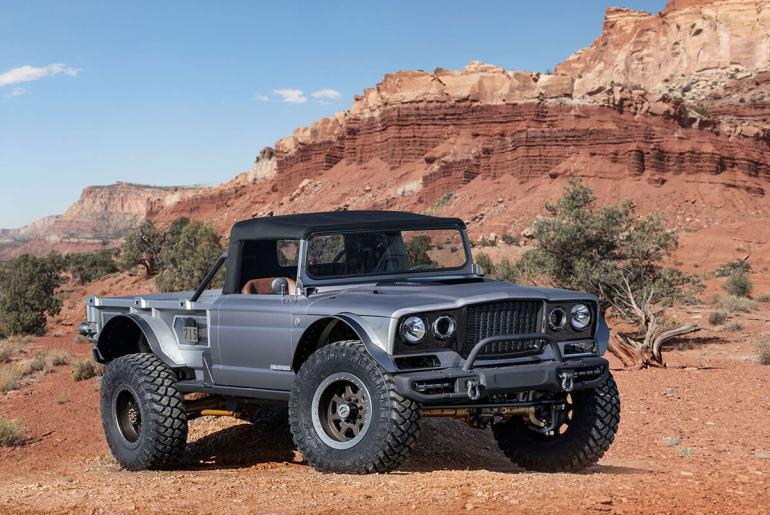 Jeep 5 quartos frente