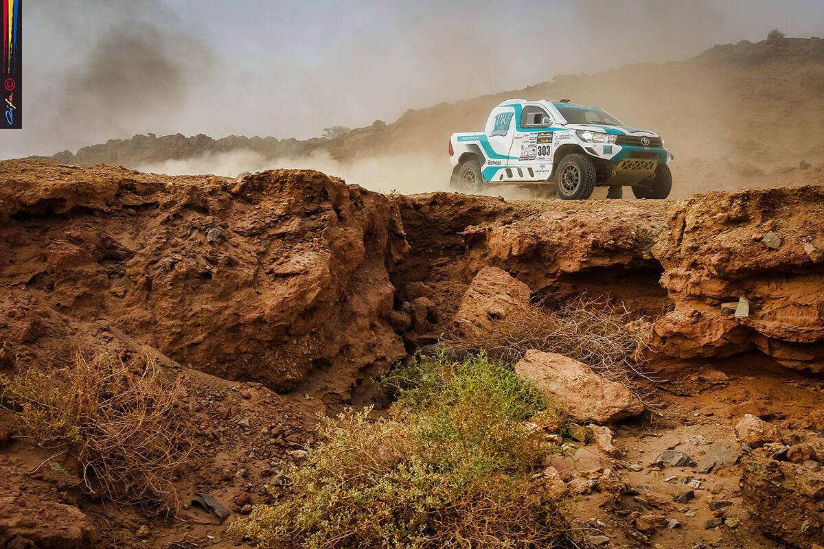 Morocco Desert Challenge: Ferreira e Monteiro mantêm segundo lugar a meio da prova