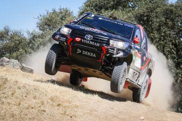 A Toyota Hilux de João Ramos e Victor Jesus venceu o prólogo da Baja TT Capital dos Vinhos de Portugal. Três prólogos ganhos em três provas este ano