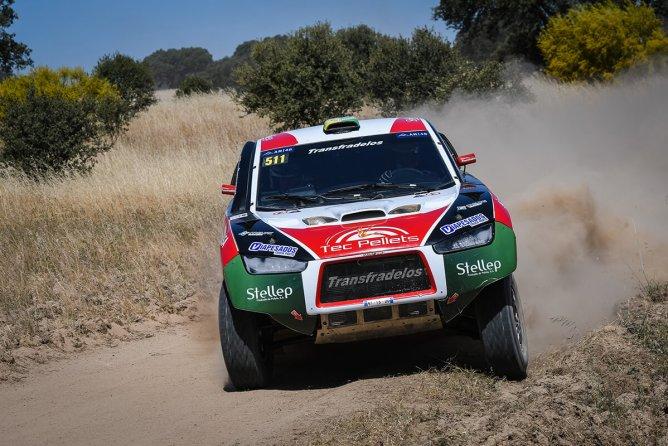 Terceiros mais rápidos no sector selectivo de sábado, Tiago Reis e Valter Cardoso colocaram o Mitsubishi Racing Lancer no segundo posto