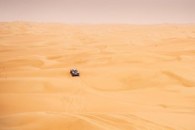 As dunas do Empty Quarter