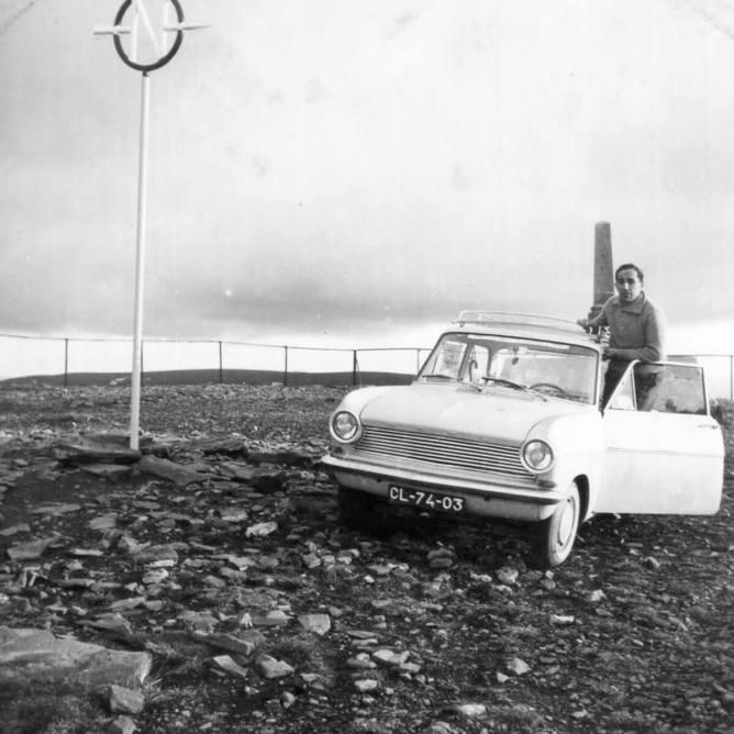 Vasco Callixto em 1964 no Cabo Norte