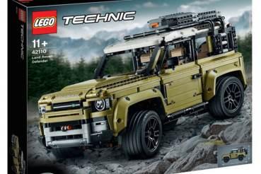 Novo Land Rover Defender em peças Lego
