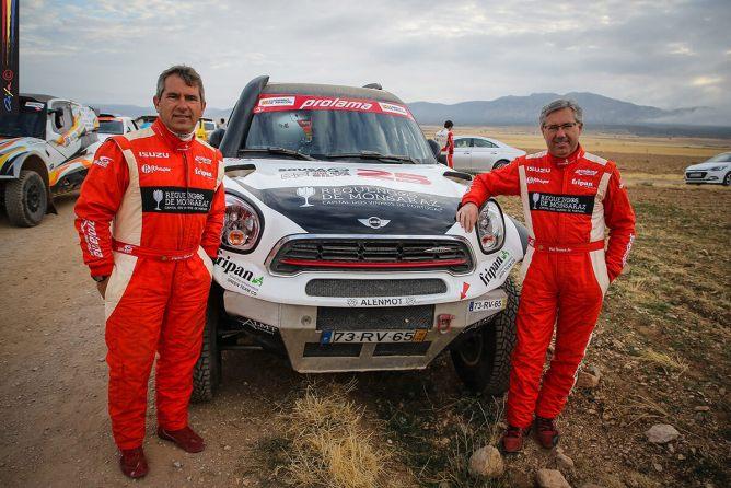 Rui Sousa e Carlos Silva em Aragón
