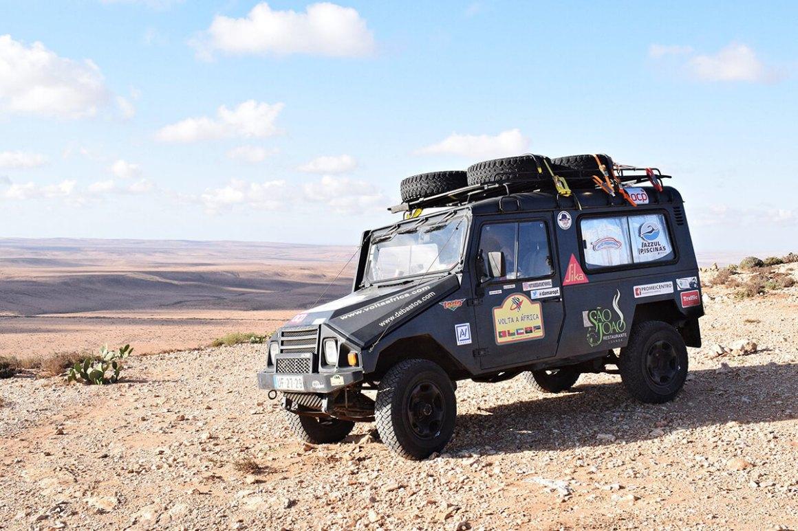 Às portas do Sahara, a caminho do Tan-Tan