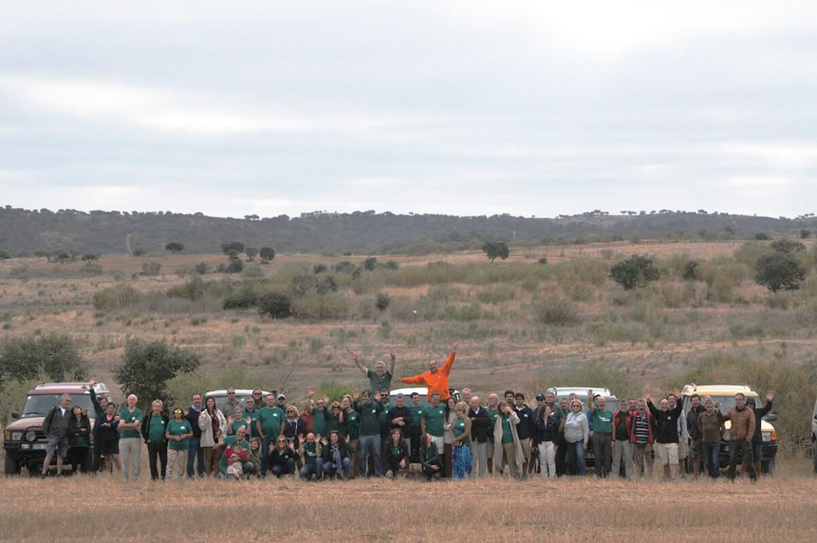 O grupo de participantes no Portugal Norte-Sul 2019
