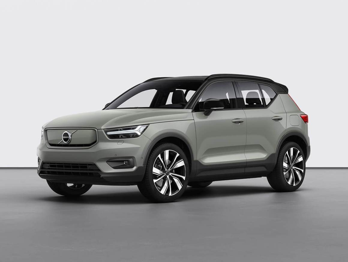 XC40 Recharge Sage Green Metallic