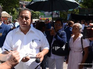 Carlos Alberto Pérez Bautista, Secretario General de la delegación 07 del SNTSA