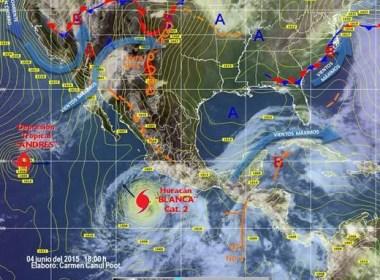Informe metereológico de Oaxaca