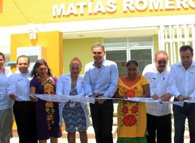 Inauguracion Centro de Salud Urbano-Matias Romero