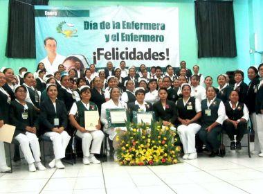 Enfermeras de Oaxaca