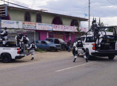 Guardia Nacional en Oaxaca