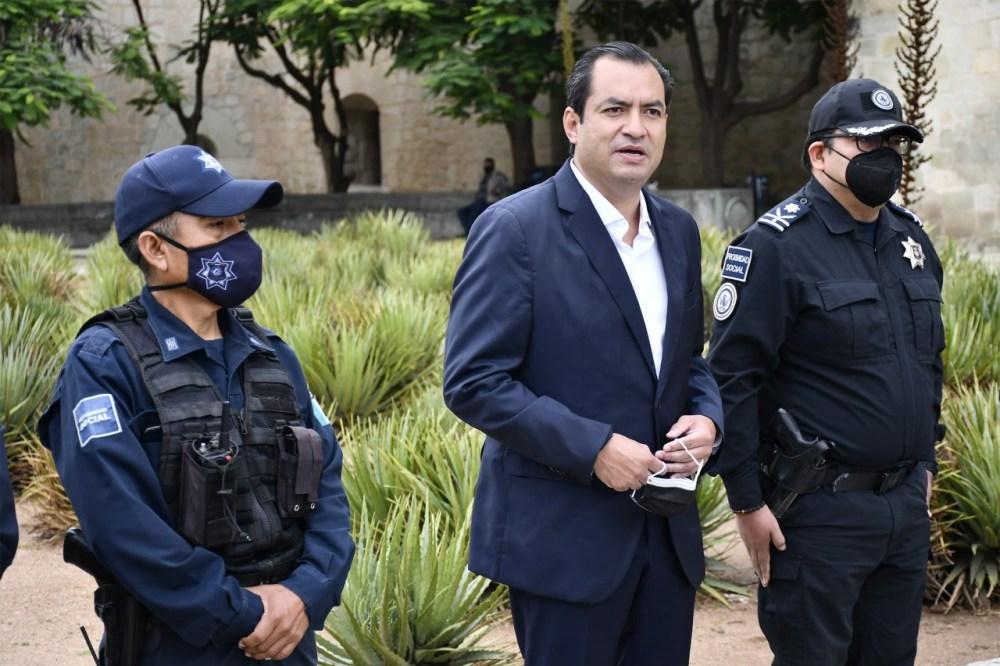 Oswaldo García a unos meses de concluir su administración
