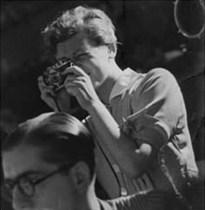 Gerda Taro, 1937. Imagen tomada por Friedmann.
