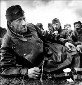 Normandía, Francia, 1944. Soldados alemanes capturados. Magnum Photos.