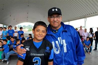 Jorge Merino Jr y Jorge Merino Padre