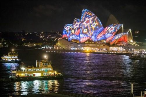 Festival de Luz en Sidney