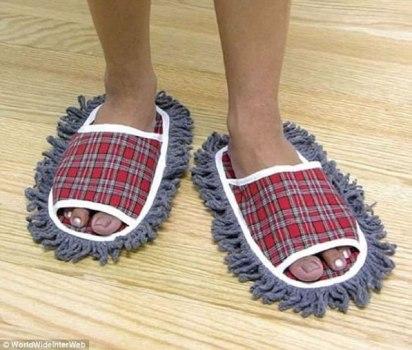 Zapatillas Limpiadoras.