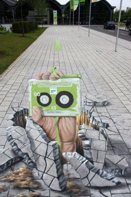 Publicidad en Pinturas 3D - Publicidad IP