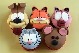 Cupcakes Garfield