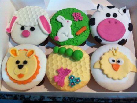 Cupcakes granja