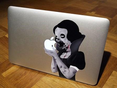 Personalizar Mac Blancanieves gótica