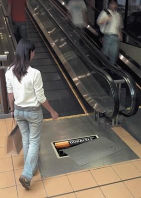 Publicidad en Pinturas 3D - Campaña Duracell