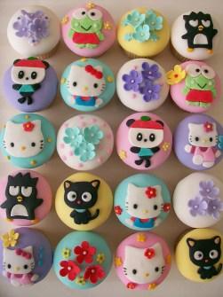 Cupcakes Sanrio