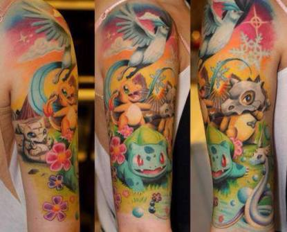 Tatuajes ánime