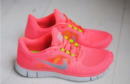 Neón y colores flúor - Nike Free neón