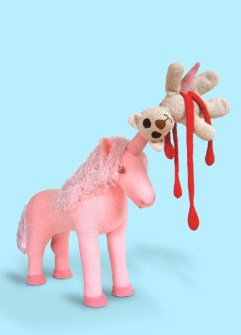 Juguetes Infernales - Unicornio sangriento