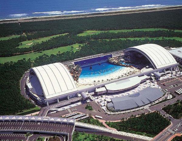 Playa Artificial en Japón - Seagaia Ocean Dome