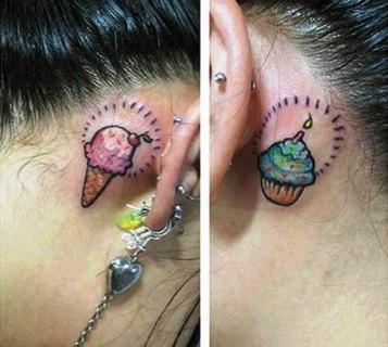 Los mejores tatuajes para hacerse en la oreja.