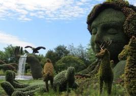 Esculturas Vegetales con mucho Arte.
