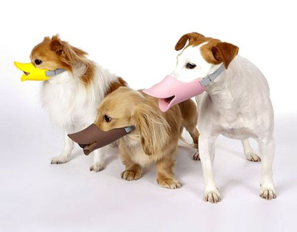Invento - Bozal pato para perros
