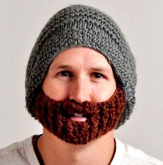 Invento - Gorro de lana con Barba incorporada