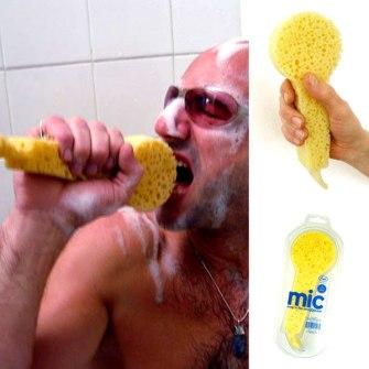 Invento - Esponja de ducha con forma de Micro