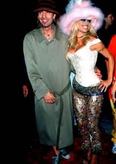 VMAs 1999 - Tommy Lee y Pamela Anderson