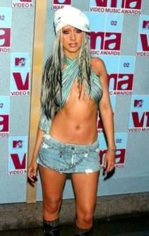 VMAs 2002 - Christina Aguilera
