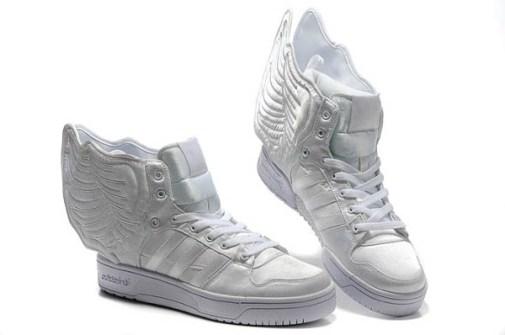 Jeremy Scott - Adidas con Alas blancas