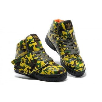 Jeremy Scott - Adidas con Alas de camuflaje