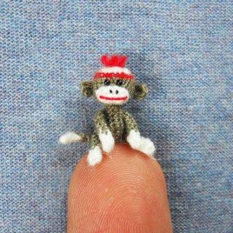Amigurumi miniaturas - Monito