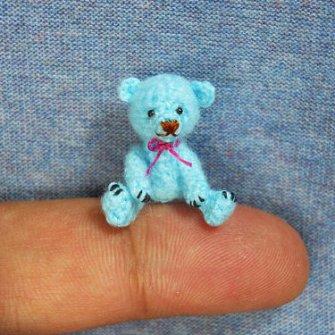 Amigurumi miniaturas - Osito Teddy