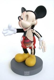 Anatomía Mickey Mouse
