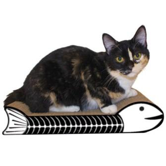 Cama de Gato modelo pescado