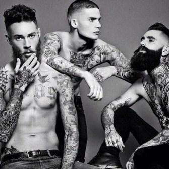 Tatuajes en chicos Hipster