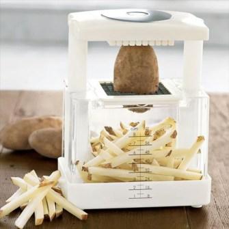 Cortador instantáneo para patatas fritas