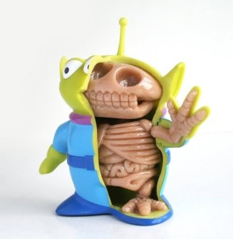 Anatomía Marcianito Toy Story