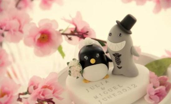 Figuritas de boda divertidas